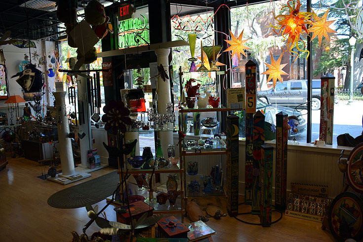 Glass art and more at Carolina Creations in Newbern, NC