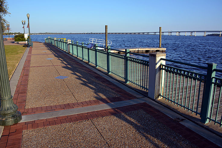 Waterfront at Union Point Park in New Bern, NC