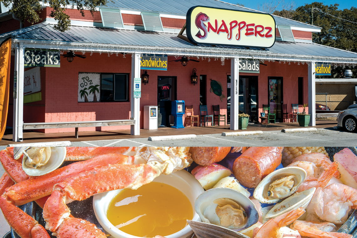 Snapperz Grill & Steam Bar