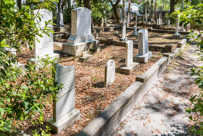Old Burying Ground Beaufort NC