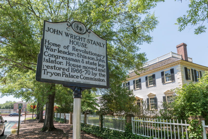 John Wright Stanly House in New Bern NC