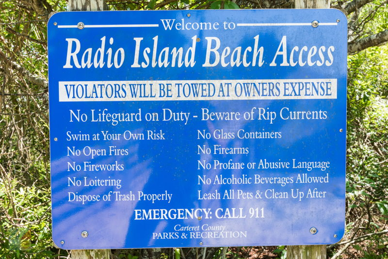 Radio Island Beach Access